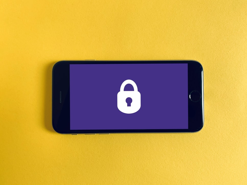 Telefon mit Sicherheitsschloss