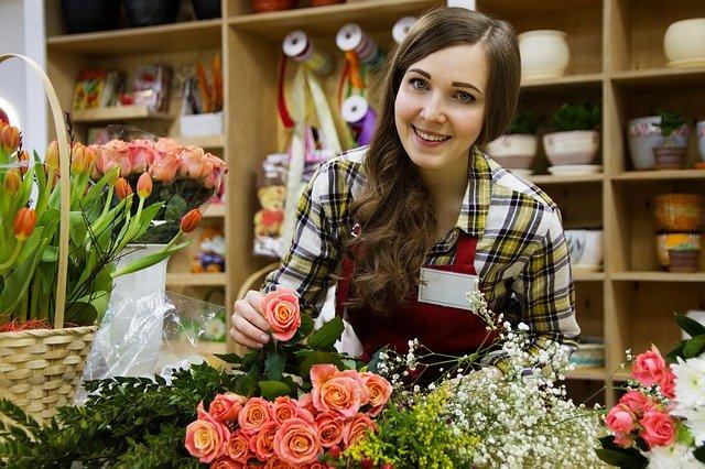 EET pokladna pro malé živnostníky, malý živnostník podnikající v oboru prodej květin.