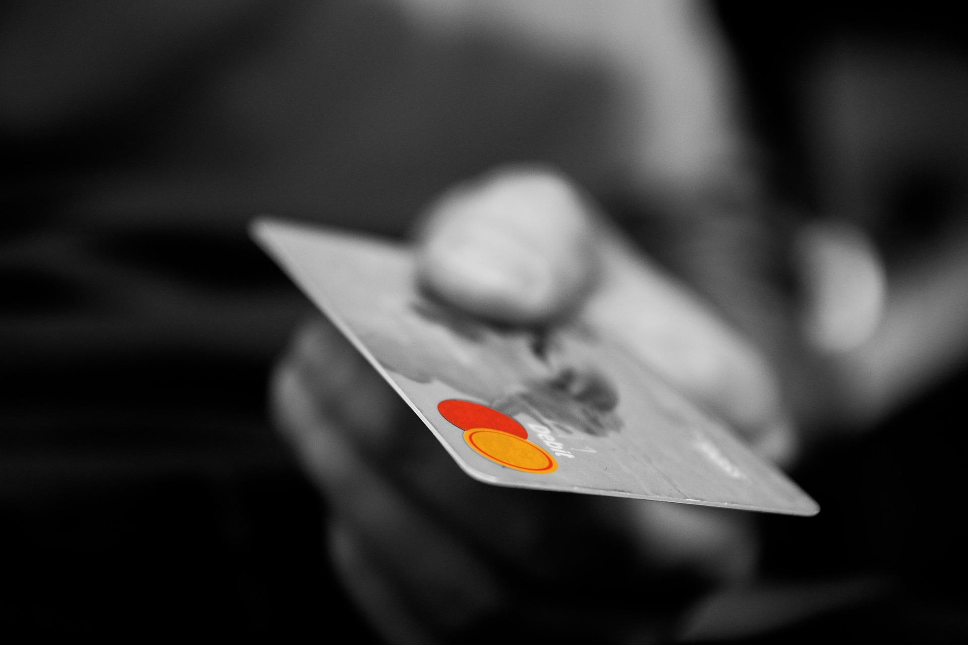 Kartenterminal Bezahlung mit Kreditkarte